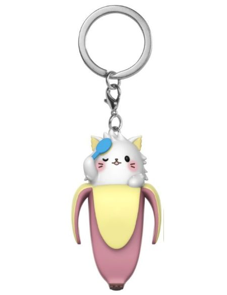 Porte-cles - Bananya - Long-haired Bananya