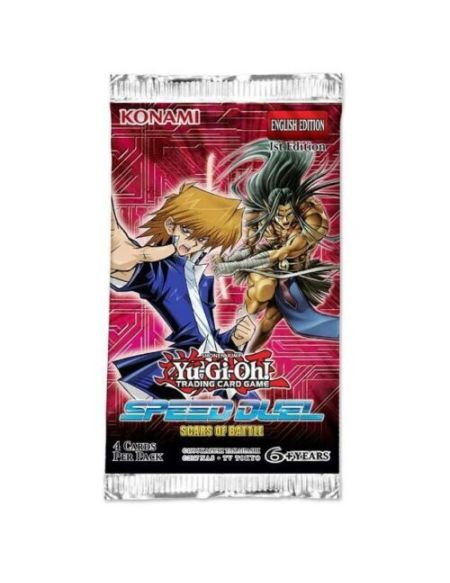 Booster - Yu-gi-oh! - Speed Duel Cicatrices De Bataille