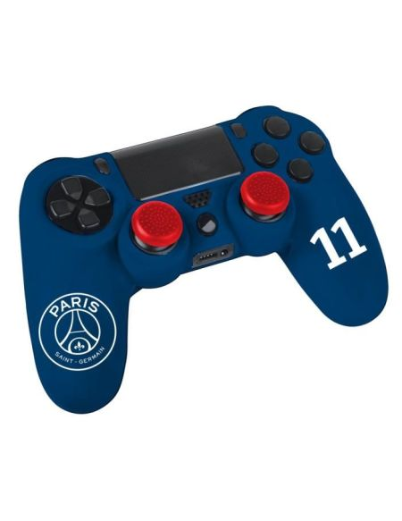 Kit e-sport Paris Saint-Germain PSG N°11 - Bleu - Pour manette PS4