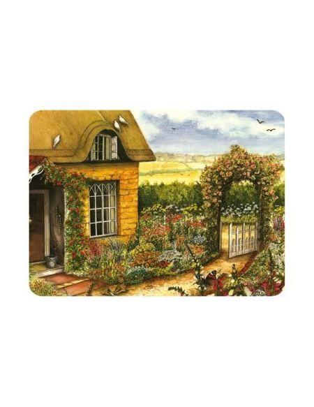 Planche à découper Cottage - 40 x 30 cm - vitrocéramique
