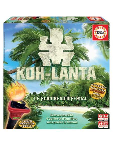 EDUCA Koh-Lanta : Le Flambeau Infernal - Jeu de société