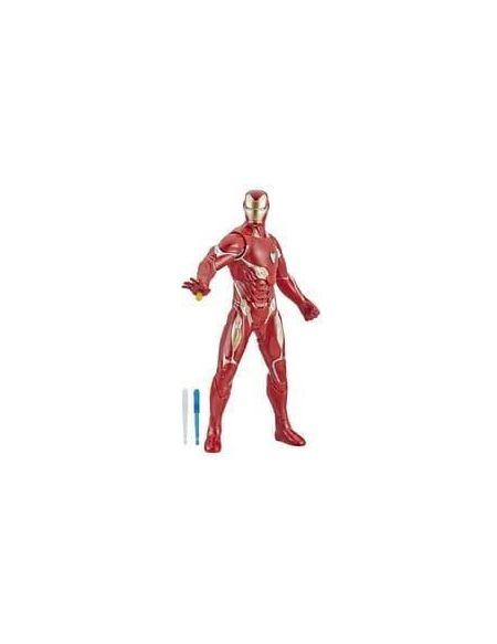 AVENGERS Endgame - Figurine Titan A Fonction Iron Man - 30 cm - Marvel