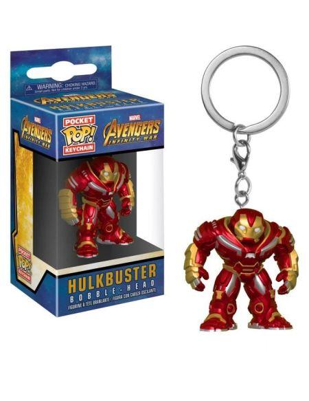 Porte-clé Funko Pocket Pop! Marvel - Avengers Infinity War: Hulkbuster