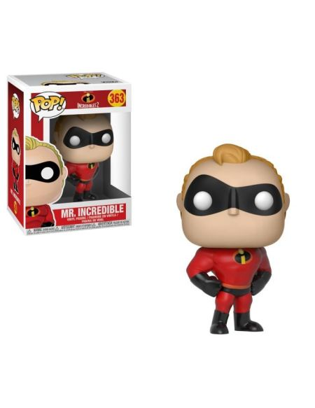 Figurine Funko Pop! Disney - Les Indestructibles: Mr. Incredible