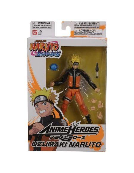 Anime HerŒs - Naruto Shippuden - Figurine Anime herŒs 17 cm - Naruto Uzumaki
