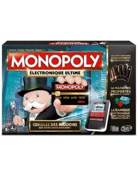 Monopoly Electronique Ultime - Jeu de société - Jeu de plateau