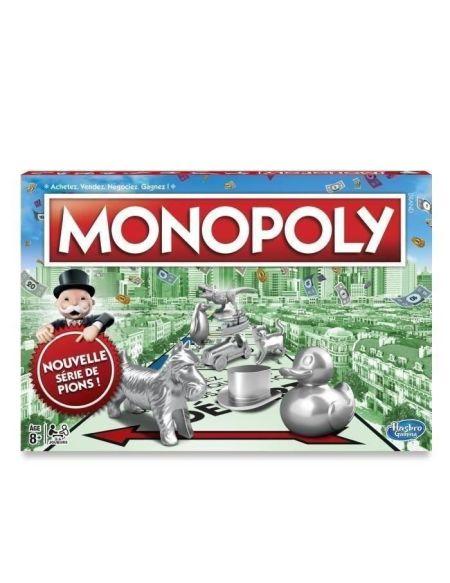MONOPOLY - Classique - Jeu de Société nouvelle Version Française - C10091010