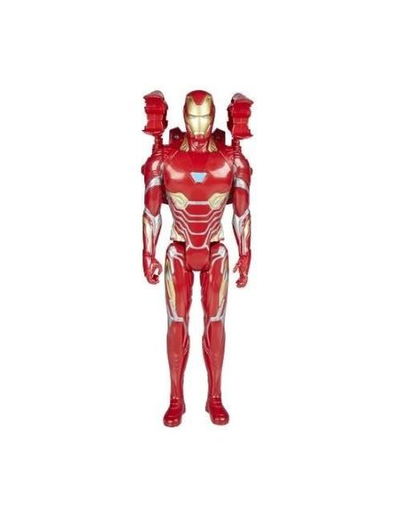 AVENGERS INFINITY WAR - IRON MAN - Figurine Titan Power Pack 30cm