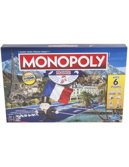 MONOPOLY Hasbro - Edition France - Jeu de Société version Française - E16531010