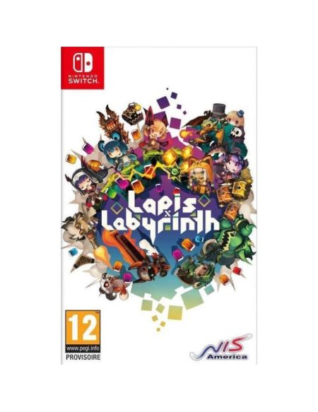 Lapis x Labyrinth - Limited Edition XL Jeu Switch