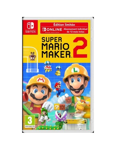 SUPER MARIO MAKER 2 | EDITION LIMITEE