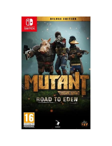 Mutant Year Zero Road to Eden Deluxe Edition Jeu Switch
