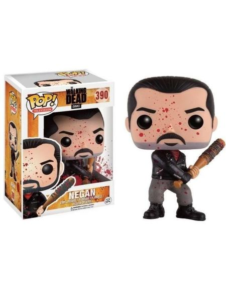 Figurine Toy Pop 390 - The Walking Dead - Negan Battle Damaged