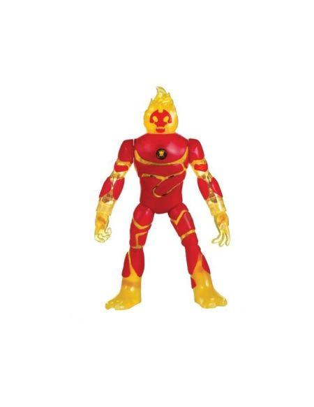 BEN10 Figurine deluxe articulée électronique Inferno