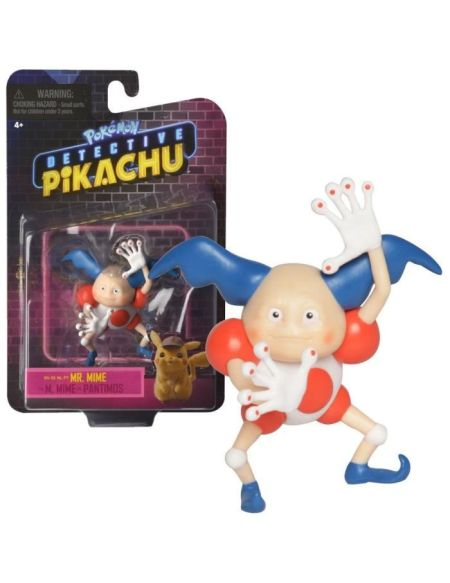 POKEMON - film Détective Pikachu - Figurine 8 cm - Mr. Mime