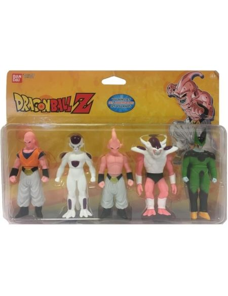 "DRAGON BALL - Pack de 5 figurines ""méchant"" Dragon Ball Z"