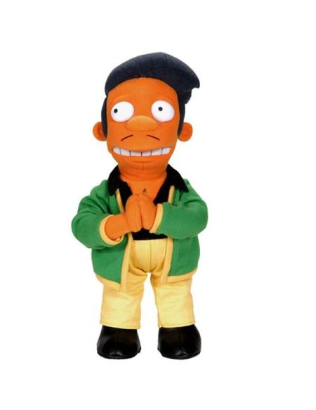 Peluche - Simpsons - Apu Nahasapeemapetilon 38 Cm