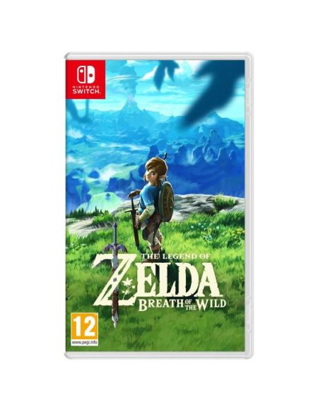 The Legend of Zelda : Breath of the Wild Jeu Switch