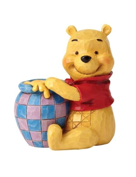 Figurine - DISNEY TRADITION - WINNIE POOH - Licence Officielle Winnie L'Ourson - Enesco