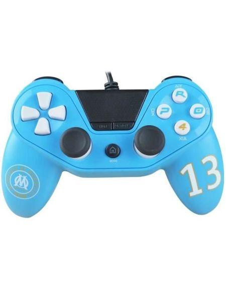 Manette Pro4 OM Olympique de Marseille pour Playstation 4 - PS4 Slim - PS4 Pro - Playstation 3 - PC - OM Numéro 13