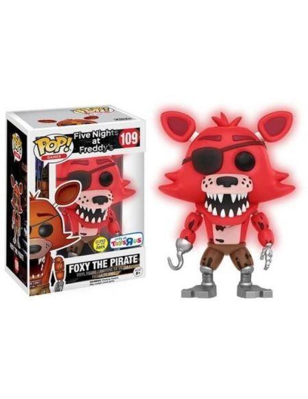 Figurine Funko Pop! Five Nights At Freddys Limitée: Foxy rouge fluorescent