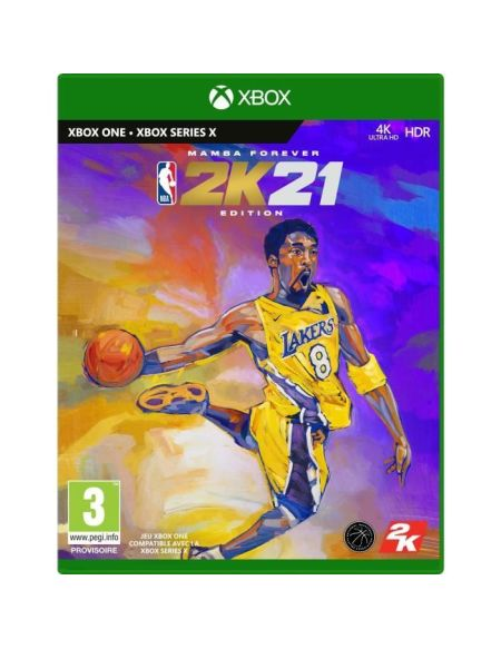 NBA 2K21 Edition Mamba Forever Jeu Xbox One