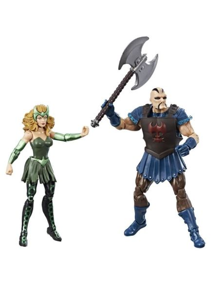 AVENGERS - THE MIGHTY THOR - Pack de 2 Figurines Marvel Legends 10cm