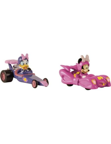 MICKEY ROADSTER RACERS Voiture Minnie & Daisy Pack Mickey & Ses Amis Top Départ