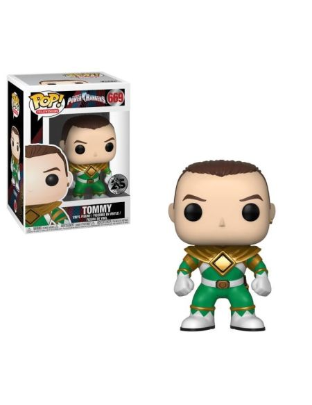 Figurine Funko Pop! Power Rangers: Ranger Vert (Sans casque)