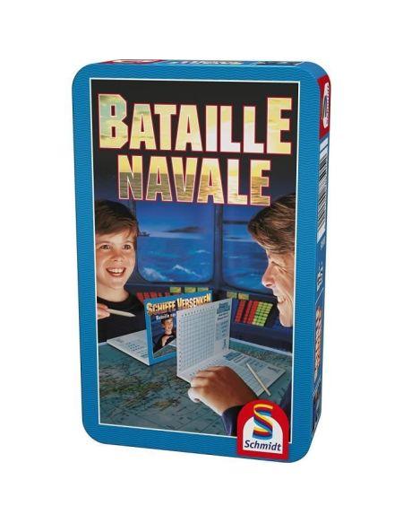 SCHMIDT AND SPIELE 88505 Jeu de Société/poche - Bataille navale