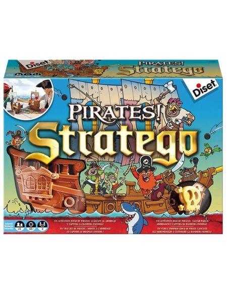 DISET - Stratégo Pirates - Jeu de Société
