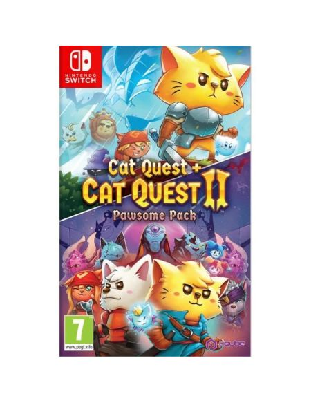 Cat Quest 1+2 Pawsome pack Jeu Nintendo Switch