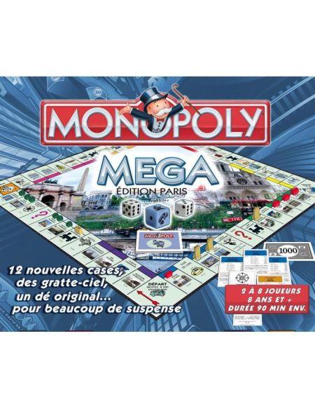 MONOPOLY Mega Monopoly - Edition Paris - Jeu de société