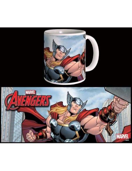 Mug Marvel Thor Avengers Série 2 Blanc