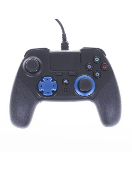 Manette Filaire esport FPS-100 noire pour PS4 avec 4 palettes a l'arriere