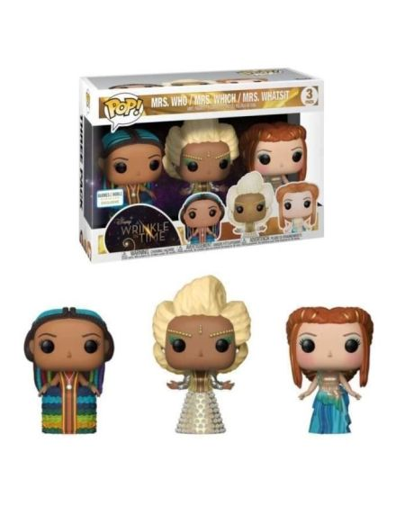 3 Figurines Funko Pop! Disney - Un raccourci dans le temps: The 3 Mrs. - Exclusive