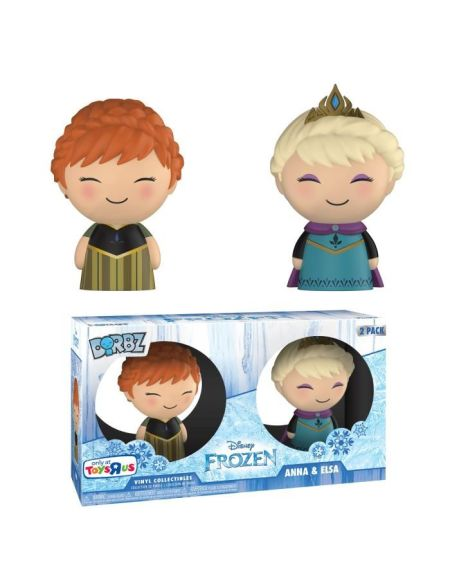 2 Figurines Funko Dorbz Disney - La Reine des Neiges: Elsa & Anna - Exclusive