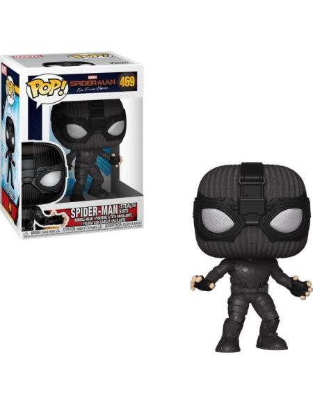 Figurine Funko Pop! Spider-Man: Far From Home - Spider-Man (Stealth Suit)