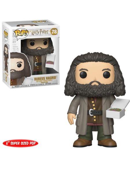 Figurine Funko Pop! Harry Potter : Hagrid avec Gâteau - 14 cm