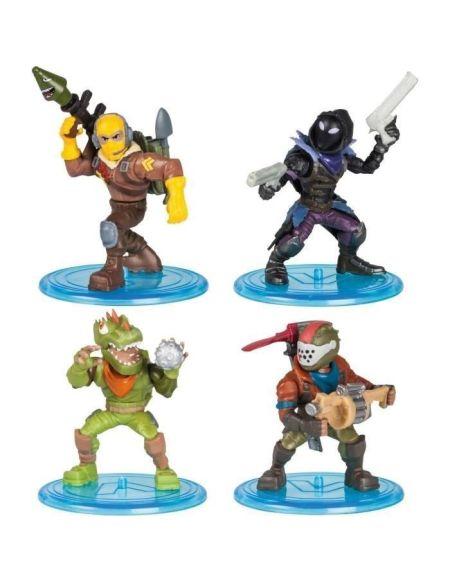 FORTNITE Battle Royale - Pack Squad 4 Figurines