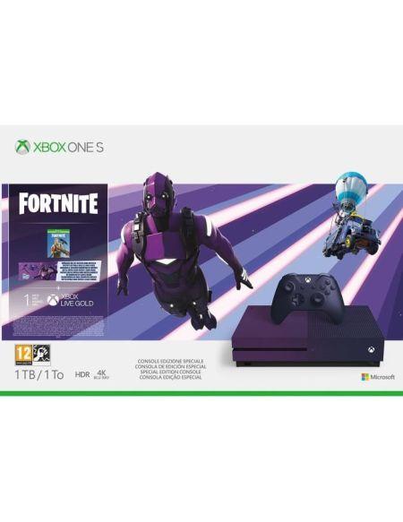 Pack Xbox One S avec l'édition spéciale de Fortnite Battle Royale (1 To)