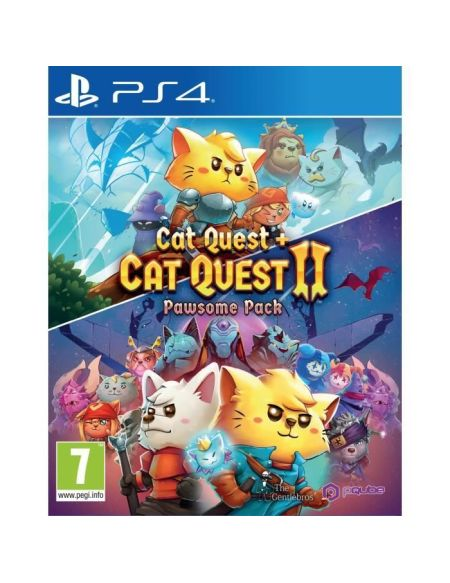 Cat Quest 1+2 Pawsome pack Jeu PS4