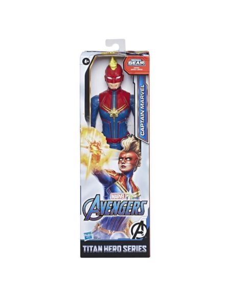 Marvel Avengers – Figurine Captain Marvel Titan Hero - 30 cm