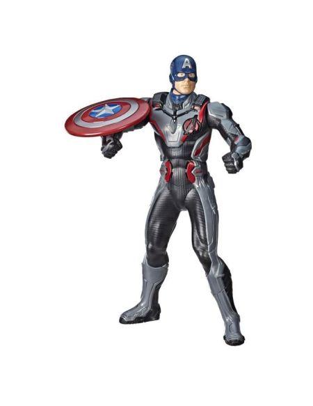 Marvel Avengers Endgame - Figurine Titan A Fonction Captain America - 30 cm