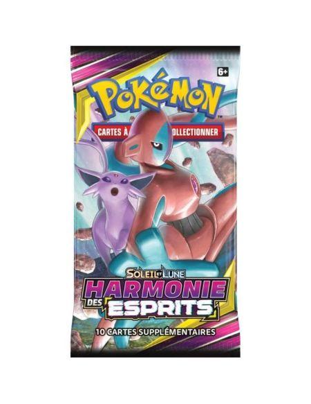 POKEMON Soleil et Lune 11 - Harmonie des Esprits - Booster SL11 - 10 cartes Pokémon - Modèle aléatoire