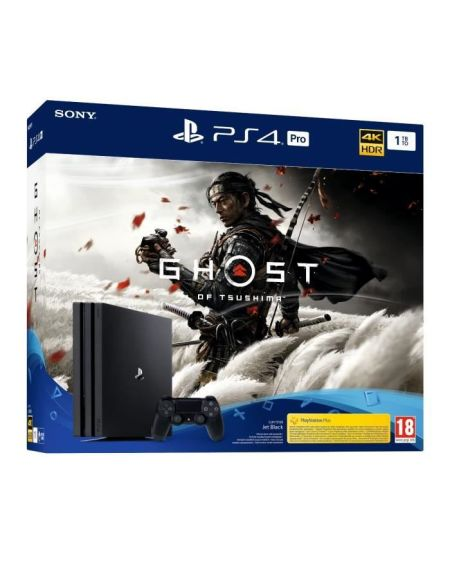 Pack Ps4 Pro 1to Noire + Ghost Of Tsushima