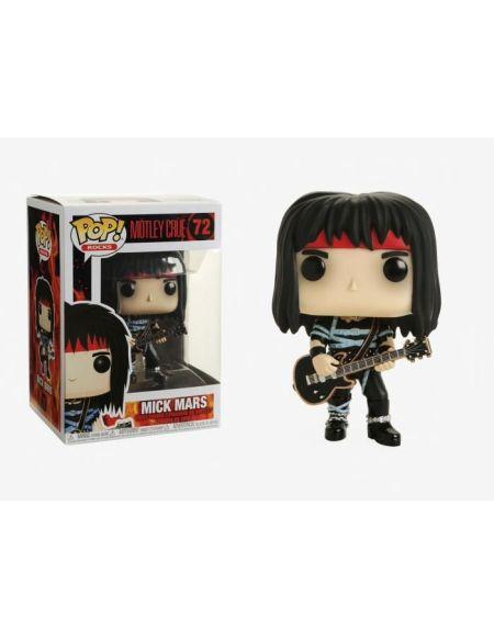 Figurine Toy Pop N°72 - Motley Crue - Mick Mars