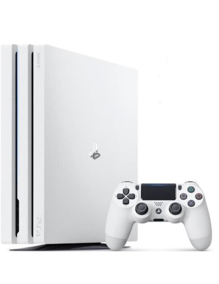 Console Playstation 4 Pro 1To Blanche