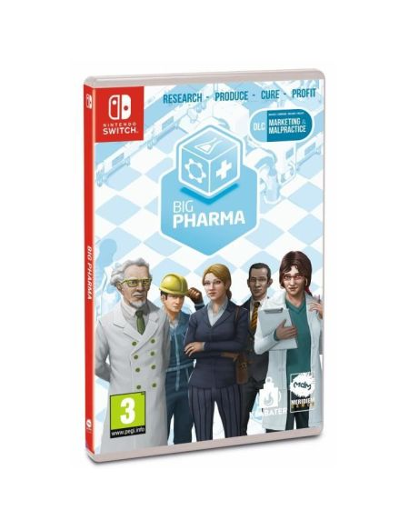 Big Pharma Jeu Nintendo Switch