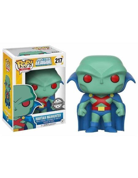 Figurine Toy Pop N°217 - Justice League Animated - Martian Manhunter